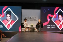 Chimamanda Adichie recently hosted the Creative Director of Christian Dior,Maria Grazia Chiuri, at a formal gala event in Lagos