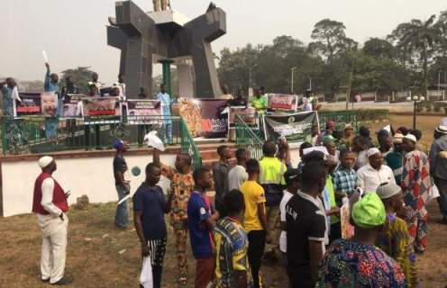 AMOTEKUN SOLIDARITY RALLY RECORDS POOR TURN OUT IN OGUN