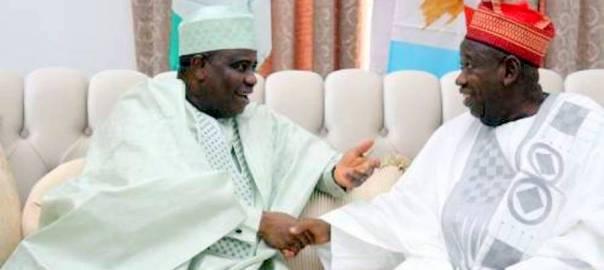 L-R: Governor of Sokoto state Aminu Tambuwal and Governor of Kano state Abdullahi Ganduje. [PHOTO CREDIT: Thisday LIVE]
