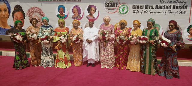 Umahi with Wives of the Governors
