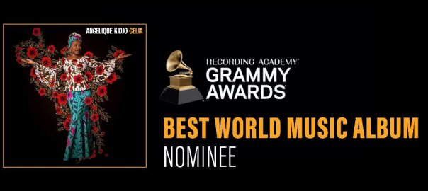 Beninese music legend, Angelique Kidjo who beat Nigeria's Burna boy to win the best world music album category.