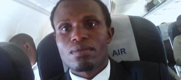 The journalist, Mr Joseph Atainyang