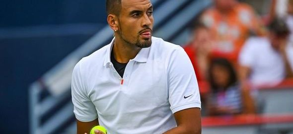 Nick Kyrgios [PHOTO: Daily Express]