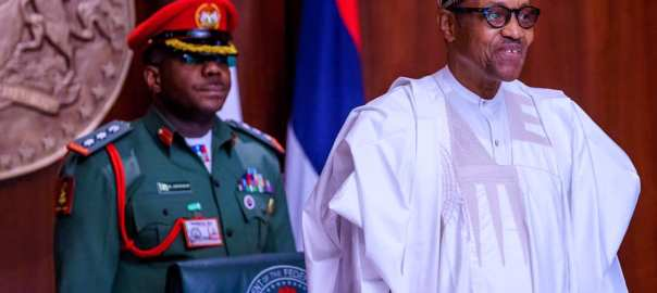 Buhari at council