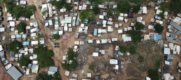 Aerial View of Kuchingoro Camp