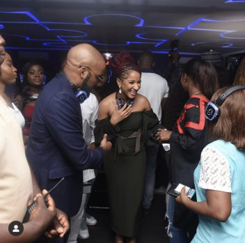 Banky W and Adesua Etomi (Photo credit: BellaNaija)