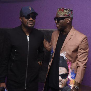 DJ Jimmy Jatt and DJ Spinall (Photo credit: BellaNaija)
