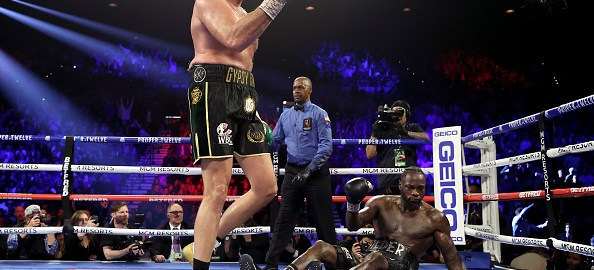 Fury beats wilder