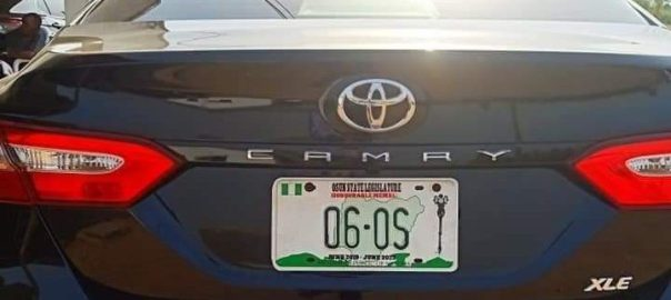 New Toyota Camry XLE 2019 cars bought by Osun State Government for the 26 members of the state House of Assembly.