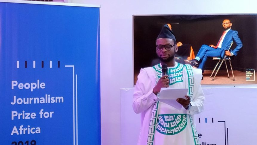 Fisayo Soyombo donates N500k journalism prize for release of awaiting-trial inmates