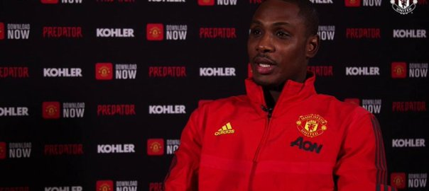 Former Nigerian striker Odion Ighalo joins Manchester United
