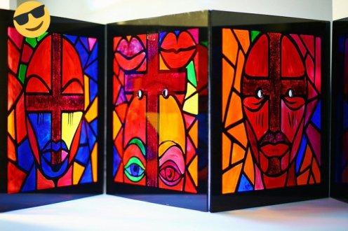 One of Isaac Emokpae's works