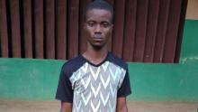 Sikiru Samuel, aka Samora arrested by the police