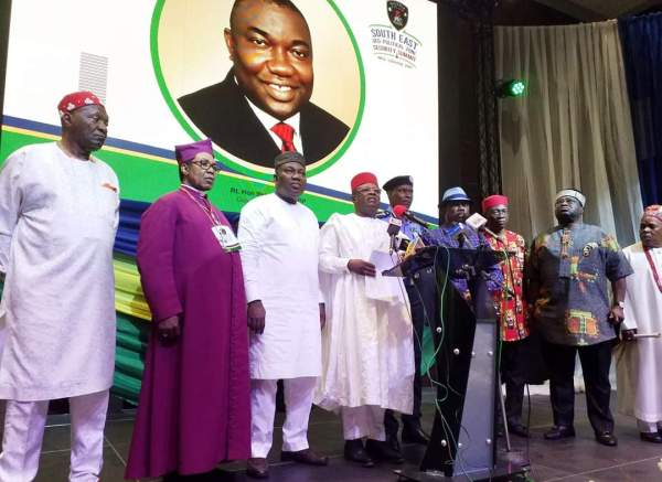 The governors and the IGP at the summit