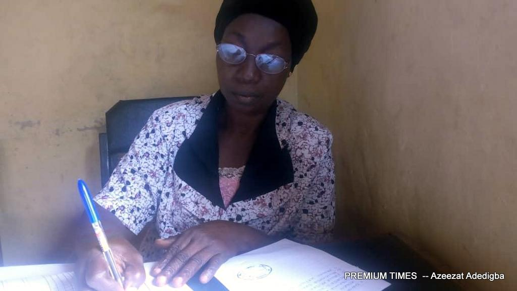 Stella Olateju, Head Teacher, Onoleye Elementary School, Modakeke