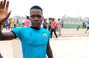 Nasarawa United player Chieme Martins