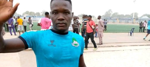 Nasarawa United player Chieme Martins