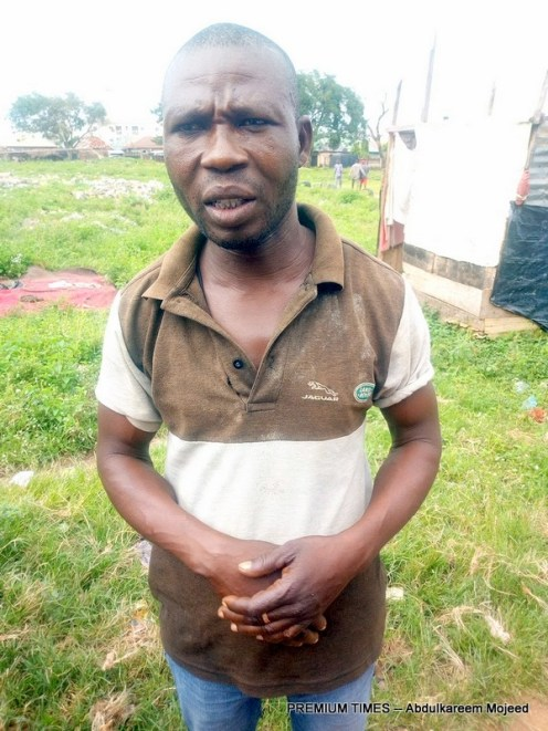 Joshua, the illegal landlord to the abandoned PHC building