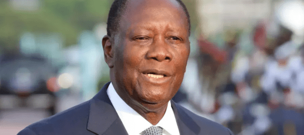 Cote d'Ivoire: Alassane Ouattara President of the Ivory Coast. [PHOTO CREDIT: AFP]