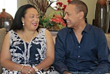 Mr Ben Murray-Bruce with his late wife, Evelyn.1