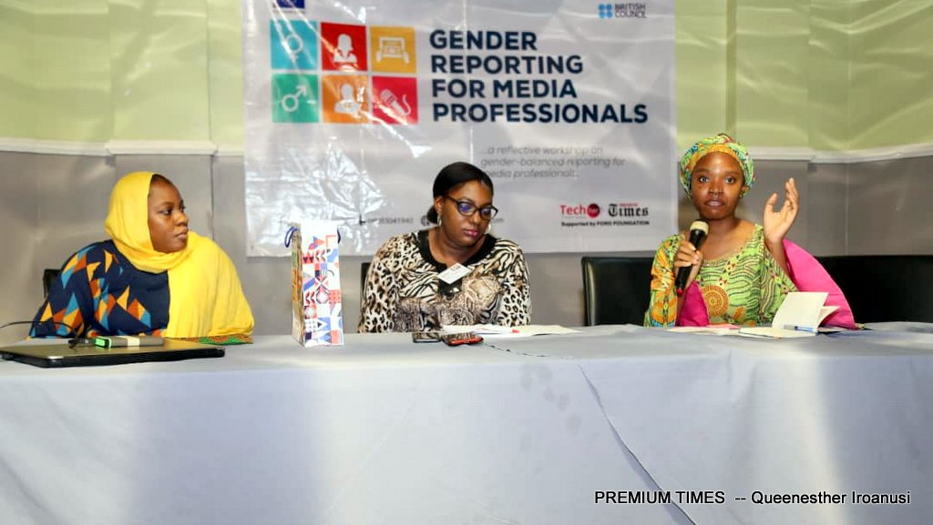 Group trains journalists on gender-balanced reporting