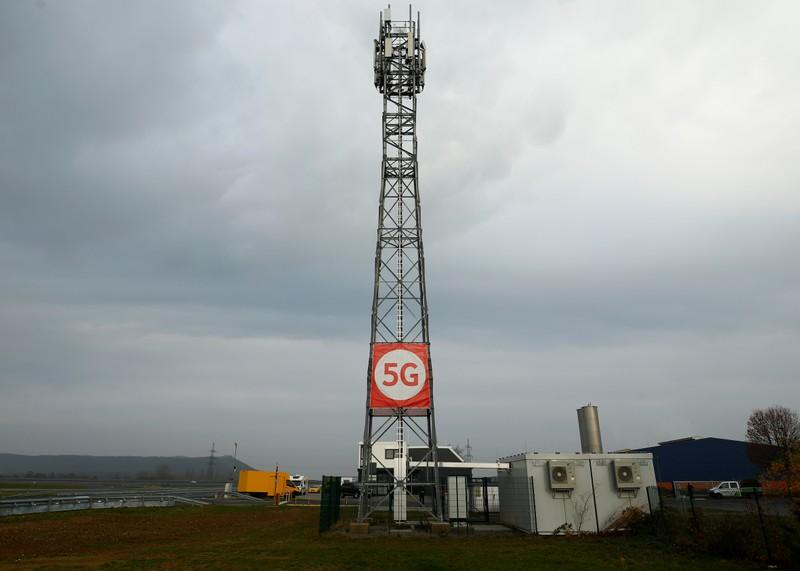 5G Mast [PHOTO CREDIT: Reuters]