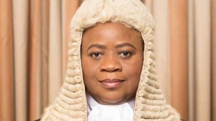 The Acting President of the Court of Appeal, Monica Dongban-Mensem. [PHOTO CREDIT: Thisday Live]