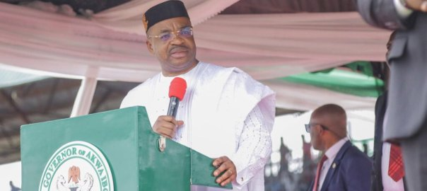 Governor Udom Emmanuel of Akwa Ibom state.[PHOTO CREDIT: @MrUdomEmmanuel]