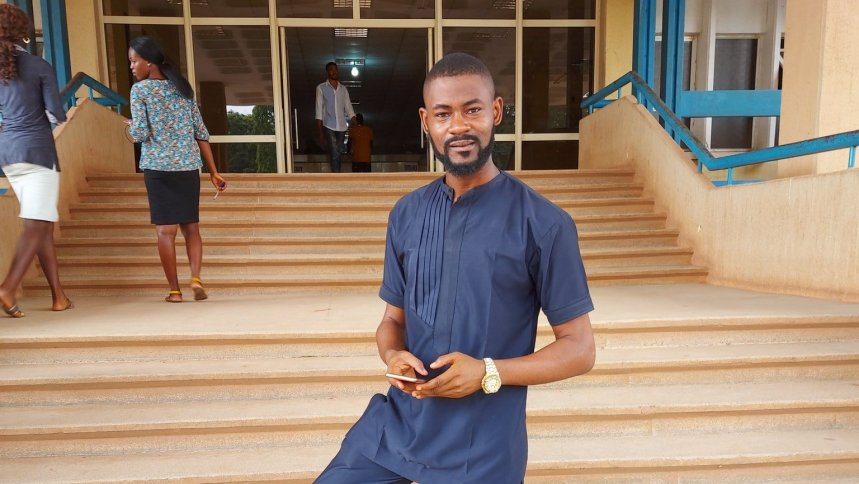 Otosirieze Obi-Young, now a former Deputy Editor of Brittle Paper, a literary magazine, who was fired on Wednesday after he wrote a scathing piece on the first lady of Kaduna, Hadiza El-Rufai[PHOTO CREDIT: Official Twitter handle of Otosirieze Obi-Young]