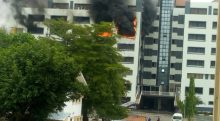 Fire guts Accountant Generals Office in Abuja