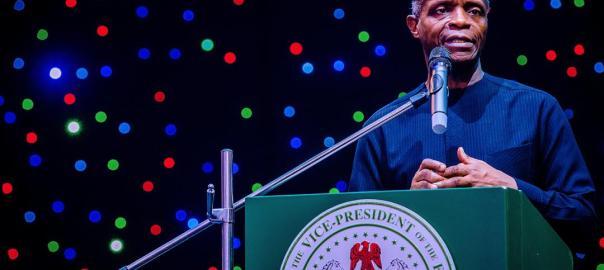 Vice President Yemi Osinbajo [VP's Twiter handle]