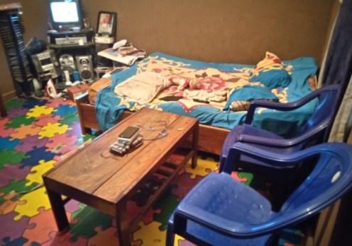 Janet Samuel's room @ Ogbodo barracks