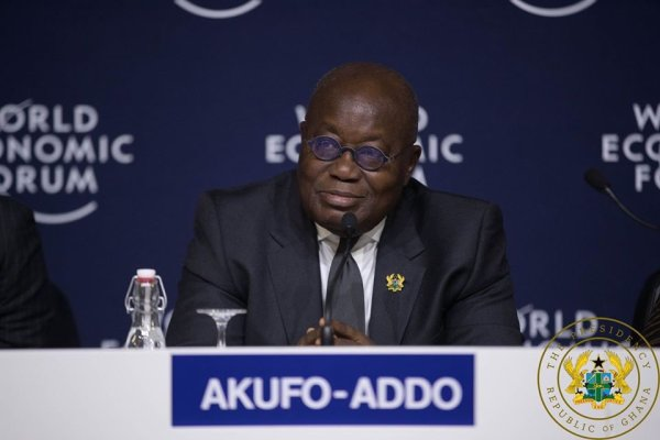 Ghana's President, Nana Akufo-Addo. [PHOTO CREDIT: Official Twitter account of Akufo-Addo]