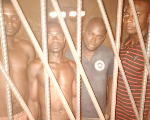 Suspected Kidnappers in Kogi State