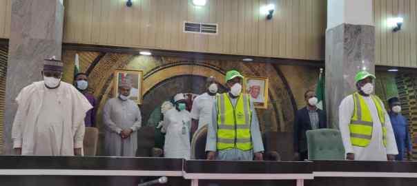 Presidential Task Force Arrives Kano