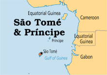 Map of Sao Tome and Principe [PHOTO: Operation World]