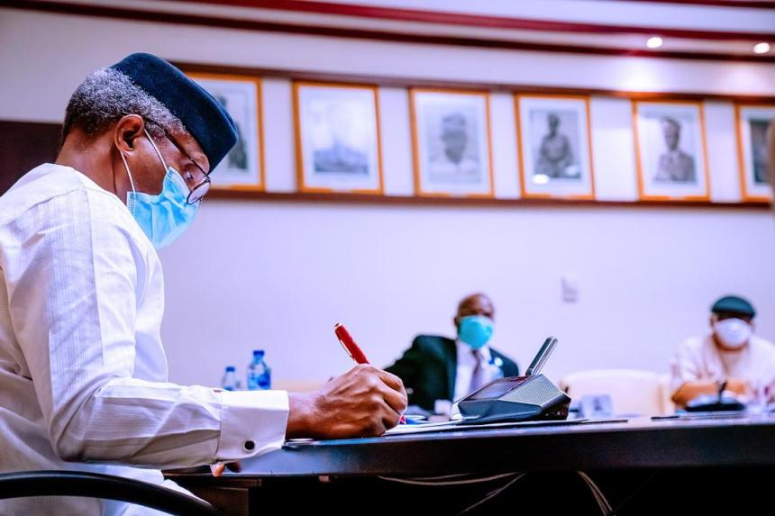Vice President Yemi Osinbajo [PHOTO: Presidency]