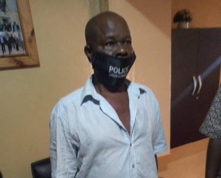 Inspector Theophilus Otobo