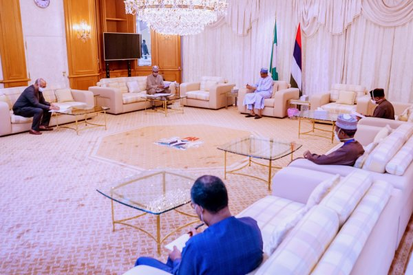President Muhammadu Buhari receives briefing from Presidential Task Force on COVID-19