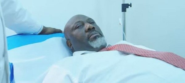 Melaye stars as kidney patient in a new Nollywood movie 'The Bean Shaped Superhero'