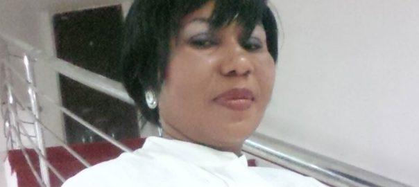 The suspended journalist, Mrs Vivian Ottih
