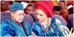 Alaafin and Olori Aanu Adeyemi