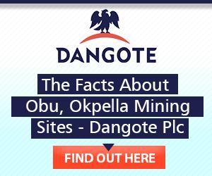 DANGOTE - June advert