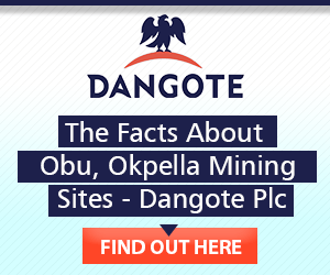 DANGOTE - June advert