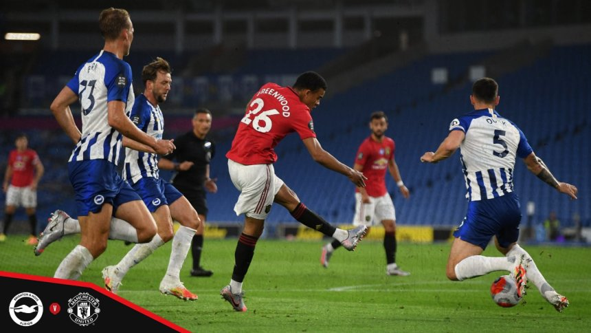 Manchester United against Brighton [PHOTO CREDIT: @ManUtd]