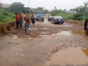 People doing patch work in Anambra