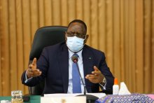 Senegalese President Macky Sall. [PHOTO CREDIT: Official Twitter account of the Senegal government]
