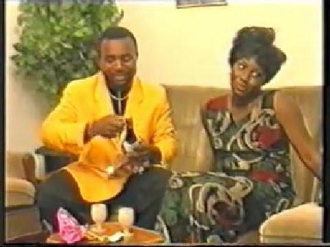 Zack Orji and Ann Njemanze in a scene from the 1996 Nollywood classic, Domitila
