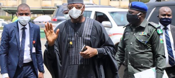Borno governor, Babagana Zulum. [PHOTO CREDIT: Official Twitter account of Zulum]