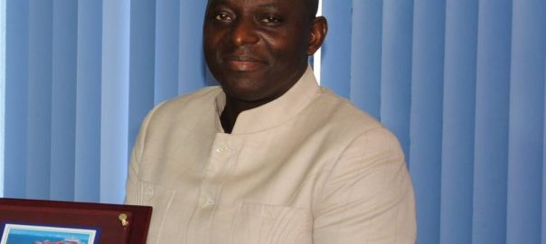 Former executive director at the Nigerian Maritime Administration and Safety Agency (NIMASA), Ezekiel Agaba [PHOTO CREDIT: NIMASA on facebook]